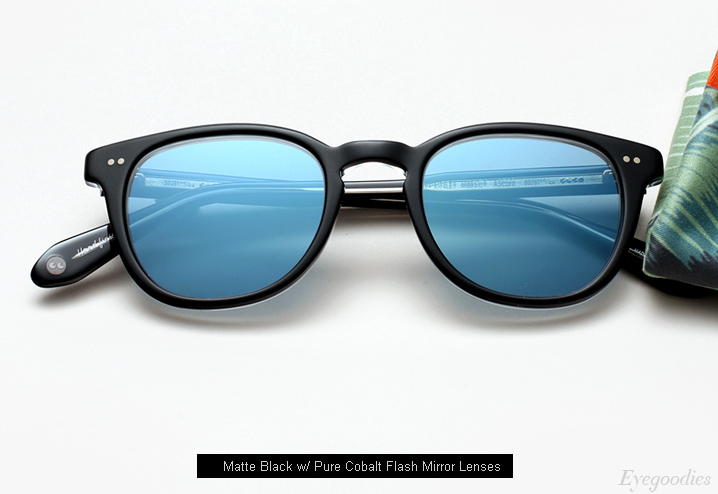 Garrett Leight Mckinley Sunglasses - Matte Black