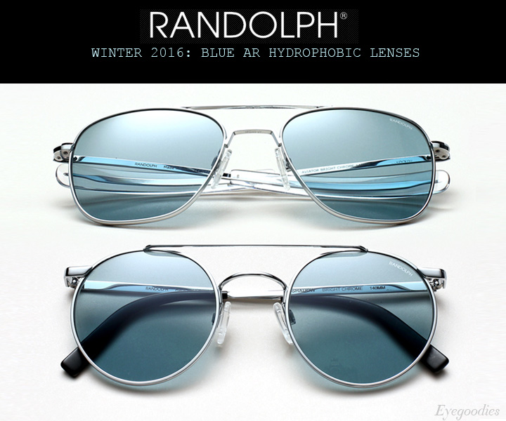 Randolph Engineering Winter 2016 Blue Lenses