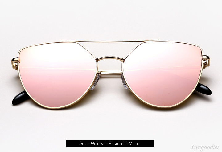 Spektre Off Shore Doppio sunglasses - Rose Gold w/ Rose Gold Mirror