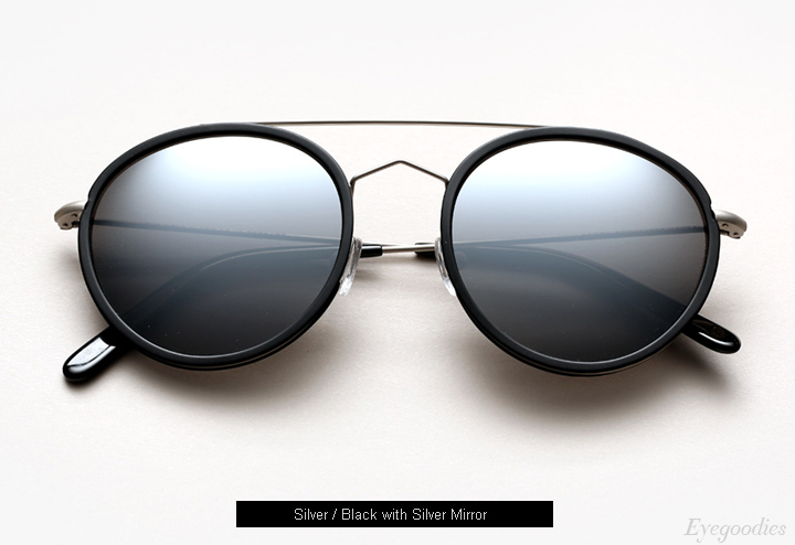Spektre Vanni sunglasses -Silver / Black with Silver Mirror