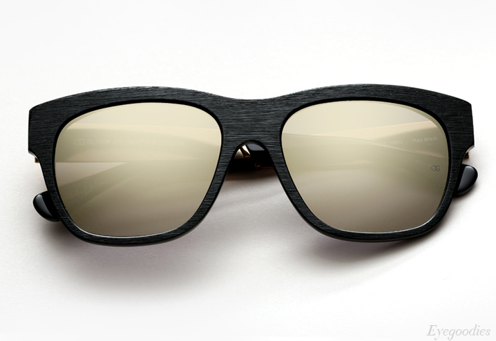 Oliver Goldsmith Lord Goldside Sunglasses - Raw Black