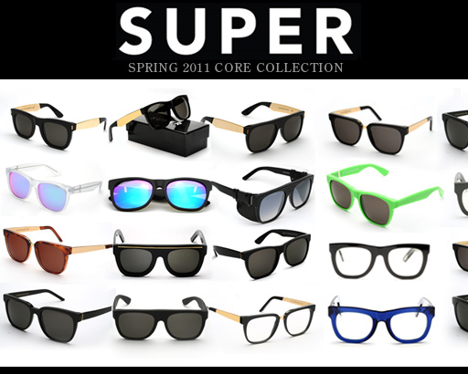 Retrosuperfuture Super Sunglasses  retro super future sunglasses fashion style sunglasses online