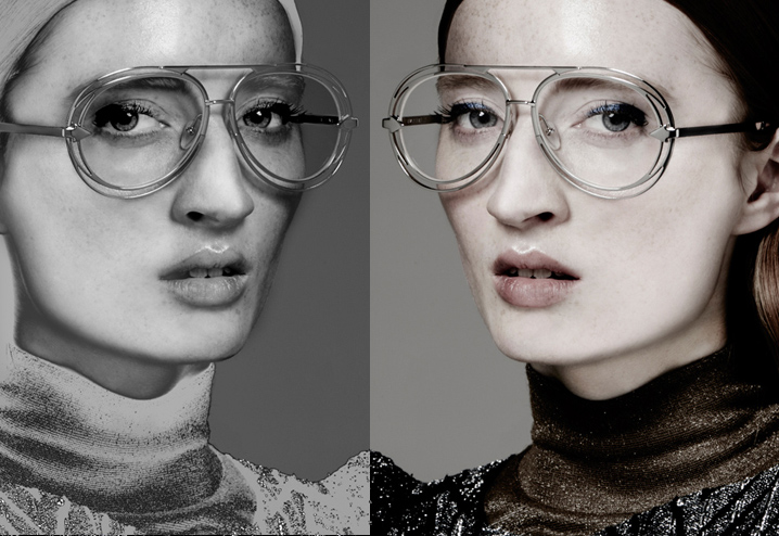 Karen Walker Jacques eyeglasses