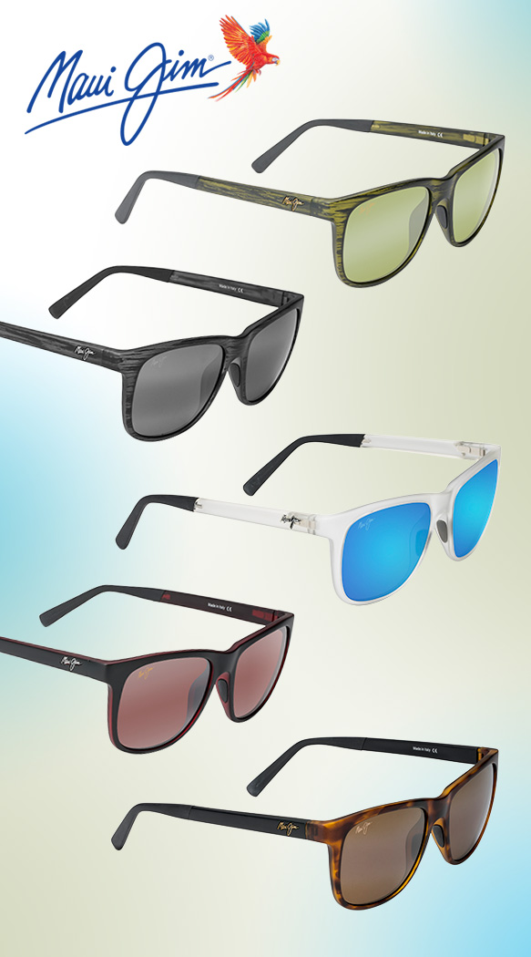 Maui Jim (Tail Slide) in varying colorations